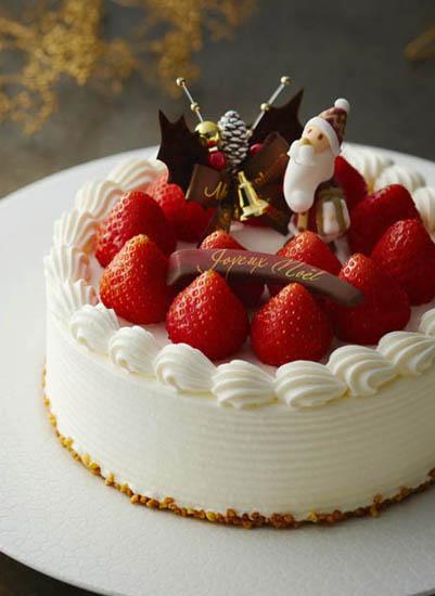 嘉山農園の苺ショートケーキ