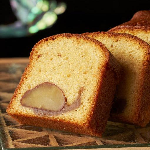 和栗のパウンドケーキ