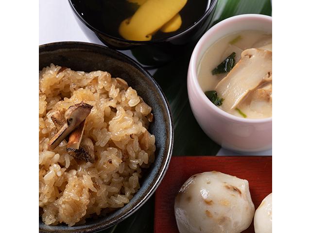 松茸三昧セット(2食入り)