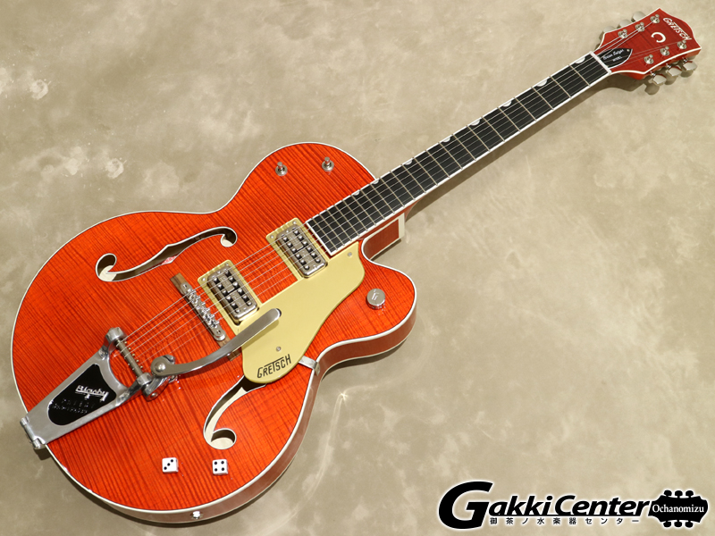 Gretsch G6120SSL Brian Setzer Nashville / Orange Lacquer【シリアルNo:JT18073107/3.2kg】【店頭在庫品】