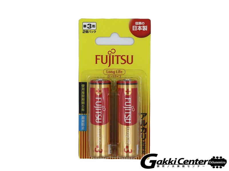 FUJITSU アルカリ乾電池 単3形 1.5V LR03F LongLife