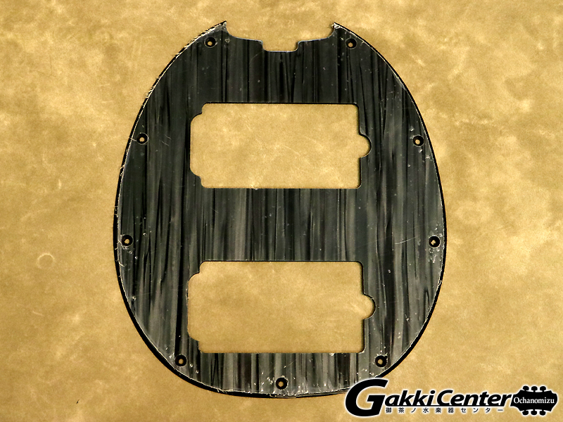 【SALE】ERNiE BALL MUSIC MAN StingRay HH Pickguard BK ICE【店頭在庫品】