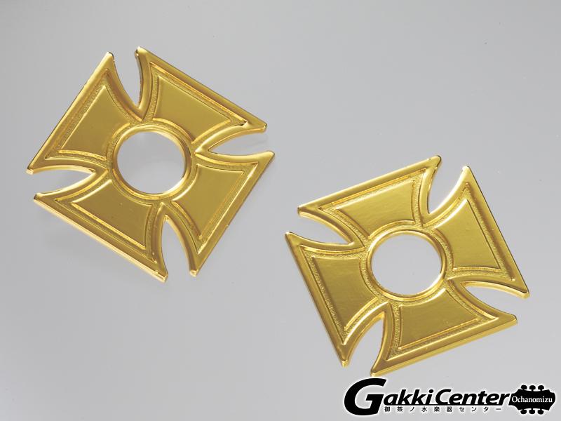 RENEGADE ストラップロックパーツ SLW-54 Biker Cross Gold