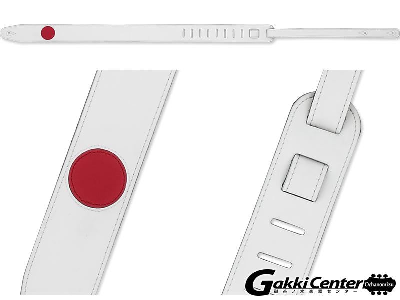 RENEGADE ギター/ベース用 ストラップ Red Circle-65 【店頭在庫品】