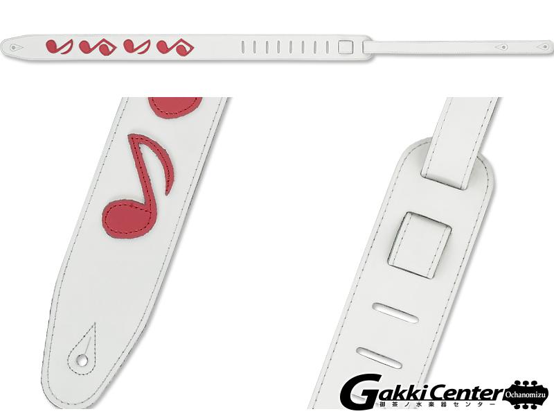 RENEGADE ギター/ベース用 ストラップ SRV65-WH/RD