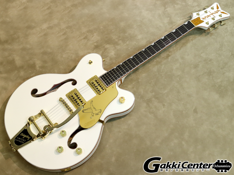 Gretsch G6636T Players Edition Falcon Center Block Double-Cut White【シリアルNo:JT19062611/3.9kg】【店頭在庫品】