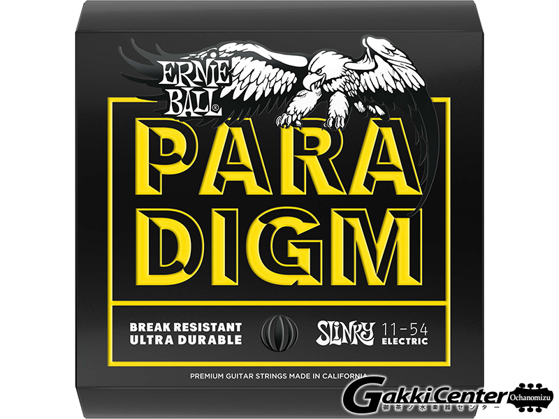 ERNiE BALL Paradigm Beefy Slinky Electric Guitar Strings 11-54 [#2027]