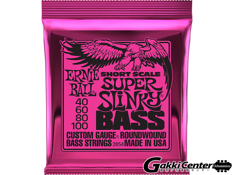 ERNiE BALL Short Scale Super Slinky Bass [#2854]