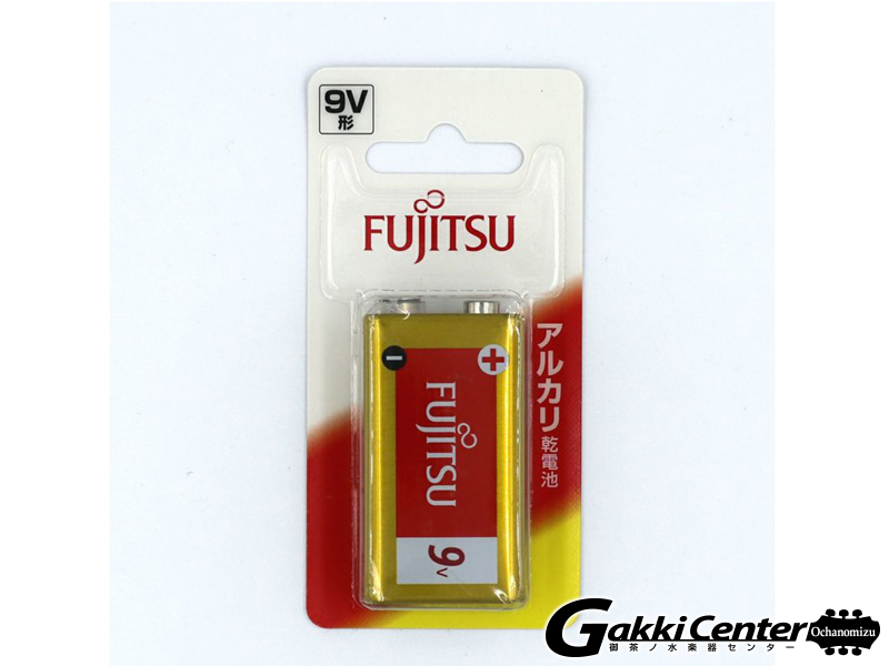 FUJITSU アルカリ乾電池 9V形 9V 6LR61F