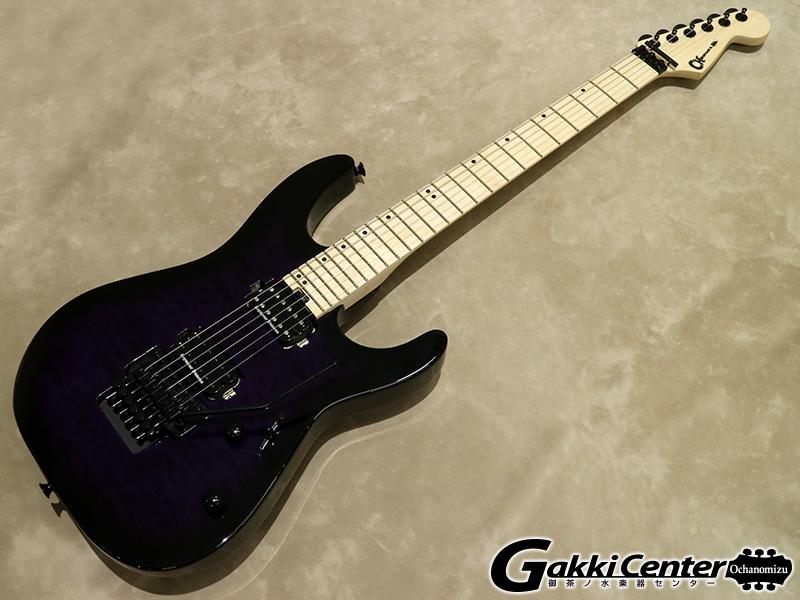 Charvel Pro-Mod DK24 HH FR M Transparent Purple Burst【シリアルNo:MC180466/3.6kg】【店頭在庫品】