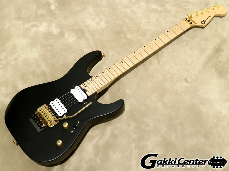 Charvel Pro-Mod DK24 HH FR M Satin Black【シリアルNo:MC180453/3.5kg】【店頭在庫品】