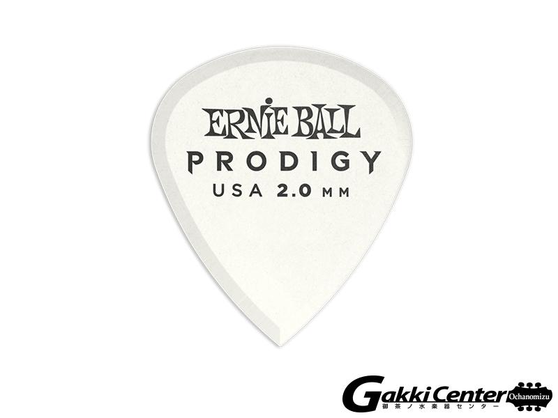ERNiE BALL Prodigy Picks White Mini 2.00mm #9203 (6枚入り)