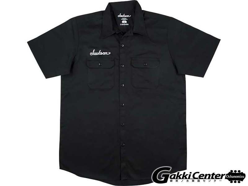 Jackson Logo Work Shirt,Black (XL)