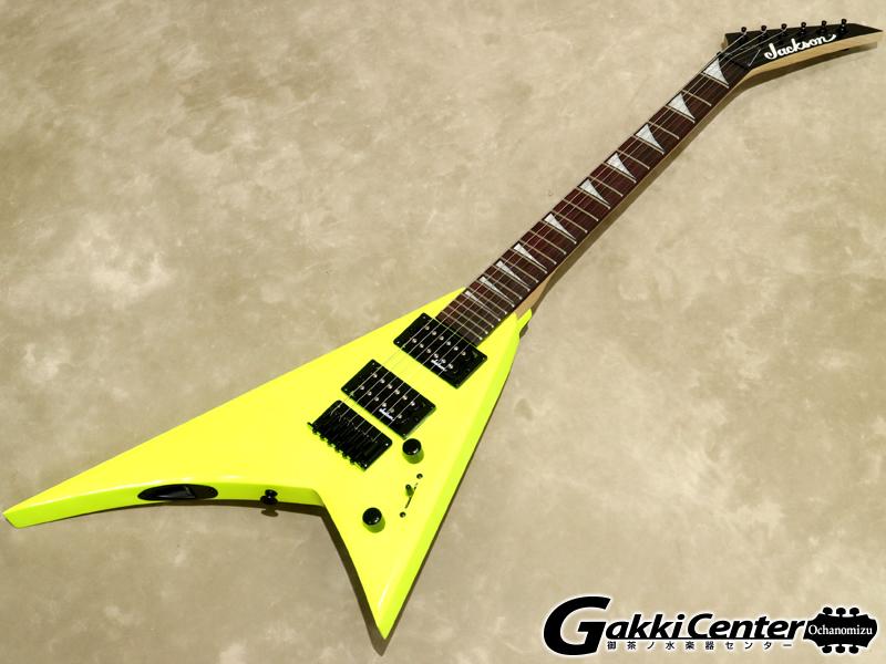 Jackson JS Series Rhoads JS1X RR Minion, Neon Yellow 【シリアルNo:CWJ1812464/2.5kg】【店頭在庫品】
