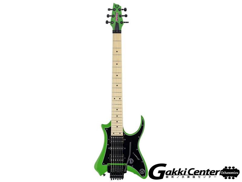 TRAVELER GUITAR Vaibrant Standard V88S(Slime Green)
