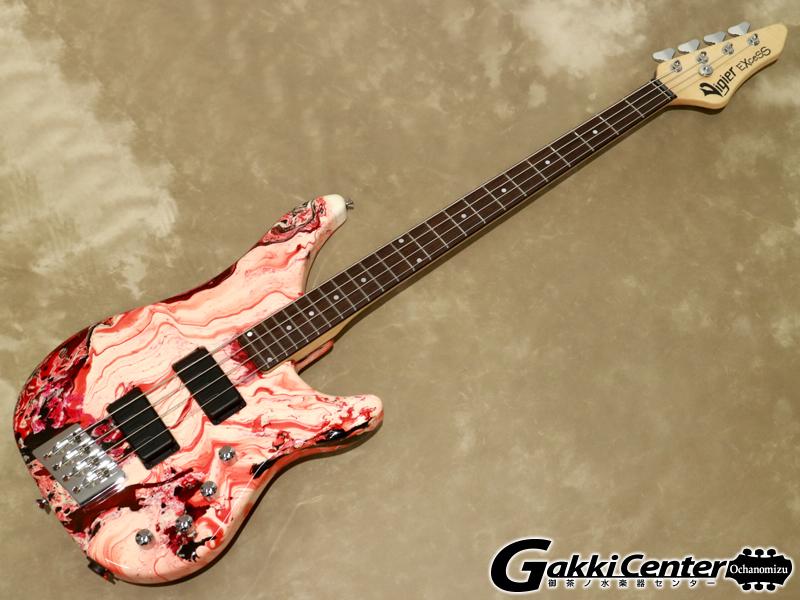 Vigier Excess Original, 4 strings VE4EC Rock Art Design/R #345【シリアルNo:90079/4.1kg】【店頭在庫品】