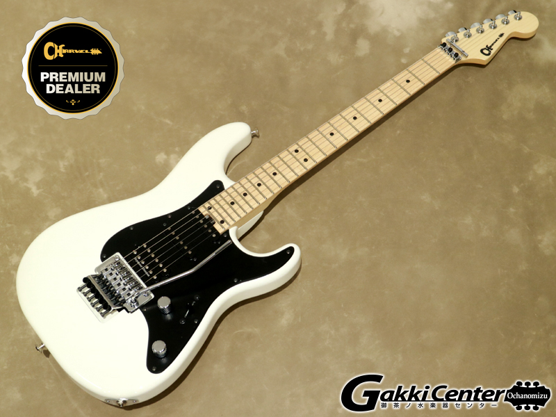 Charvel MJ SO-CAL STYLE 1 HSS FR M Snow White【シリアルNo:JDC1900045/3.7kg】【店頭在庫品】