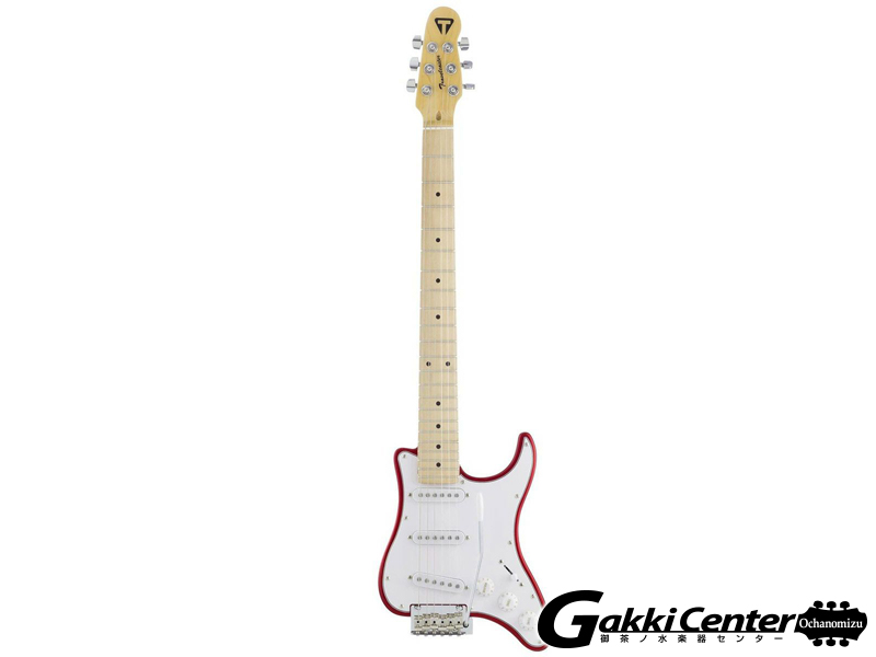 TRAVELER GUITAR Travelcaster, Candy Apple Red
