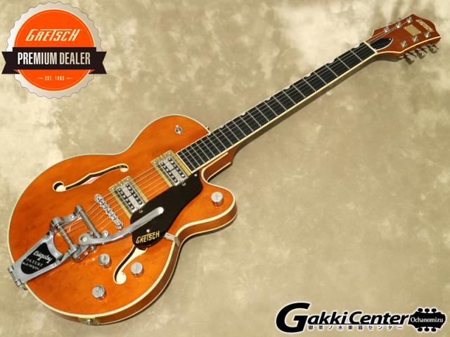 Gretsch G6659T Players Edition Broadkaster Jr. Center Block Single-Cut with String-Thru Bigsby, Roundup Orange【シリアルNo:JT20041741/3.3kg】【店頭在庫品】