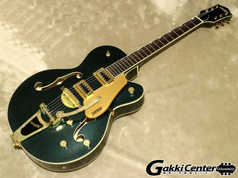 【限定モデル】Gretsch G5420TG Limited Edition Electromatic Hollow Body Single-Cut with Bigsby, Cadillac Green【シリアルNo:KS20033110/3.5kg】【店頭在庫品】