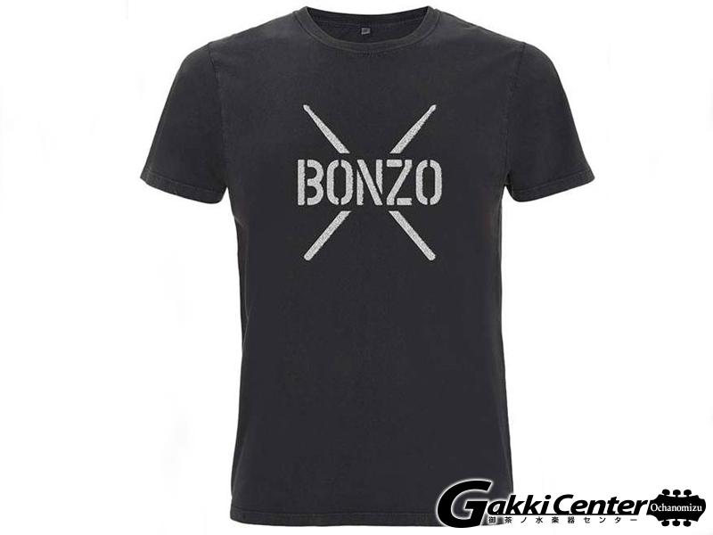 PROMUCO John Bonham T-Shirt BONZO STENCIL - Black(Mサイズ)