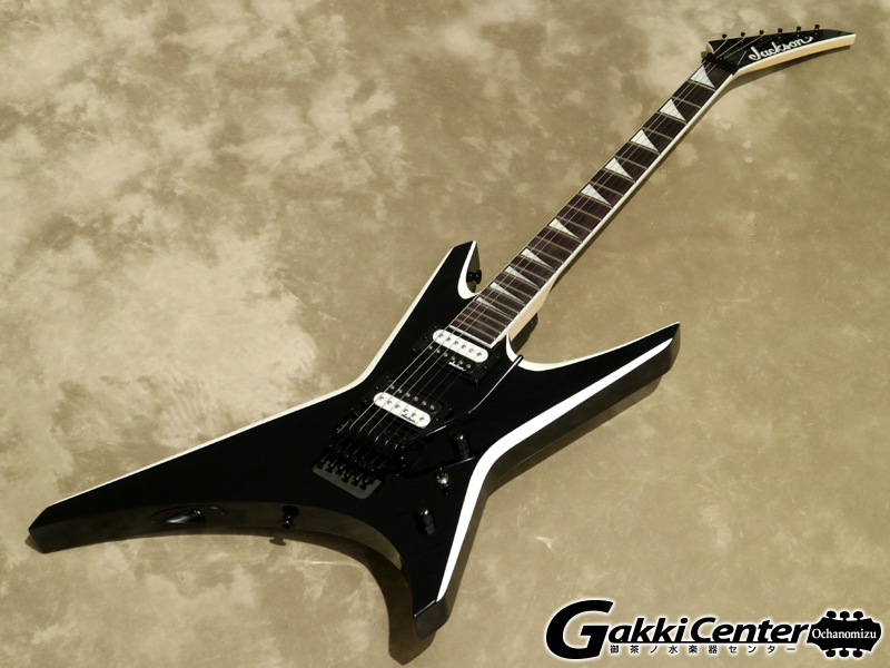 Jackson JS Series Warrior JS32, Black with White Bevels 【シリアルNo: CWJ2021045/3.4kg】【店頭在庫品】