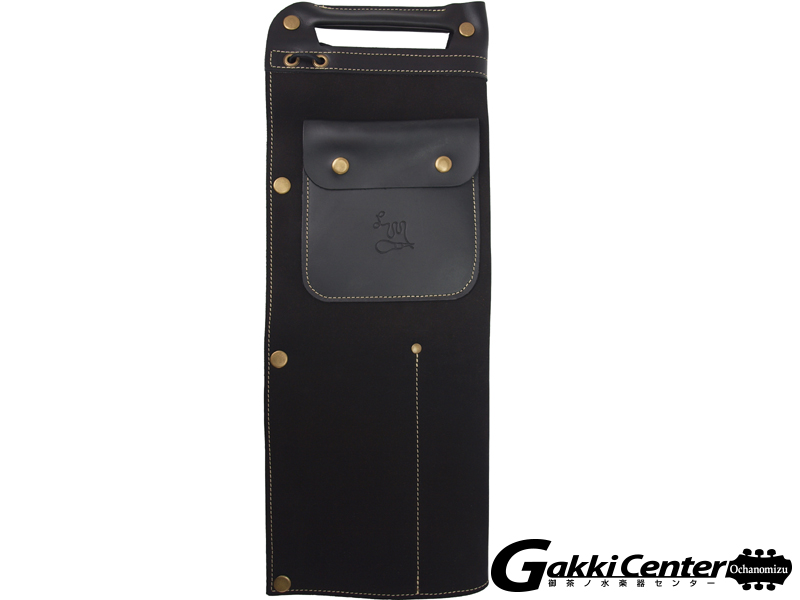 LM Products Full Leather Drumstick Bag STB-1,Black