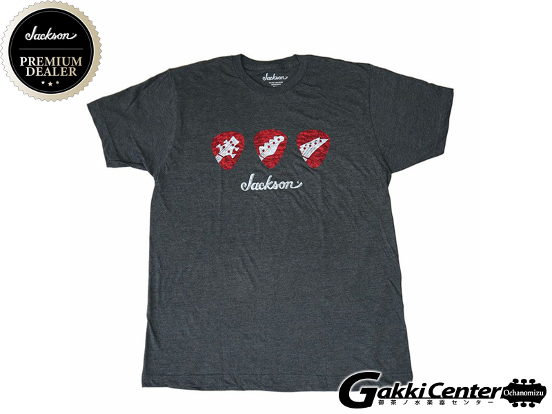 Jackson Pick T-Shirt, Gray, Small