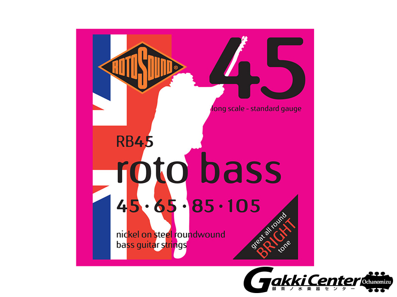 ROTOSOUND RB45 Long Scale Standard (.045-.105)