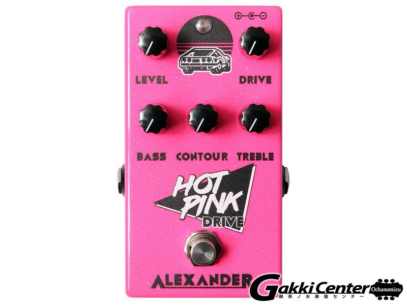 Alexander Pedals  Hot Pink Drive