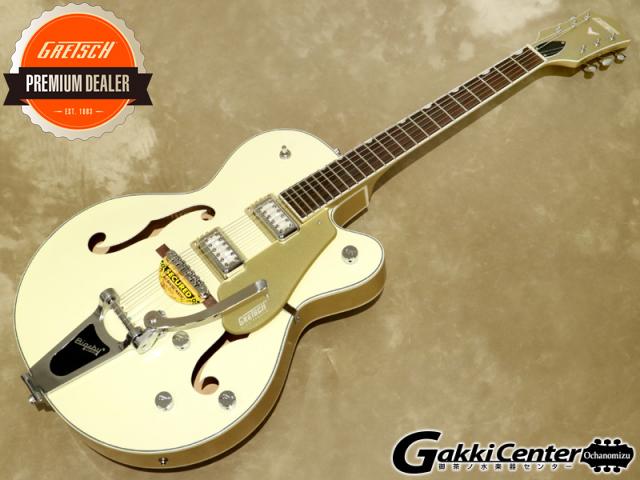 Gretsch G5410T LTD Electromatic Tri-Five Two-Tone Vintage White/Casino Gold 【シリアルNo:KS21034158/3.1kg】【店頭在庫品】