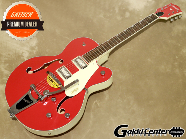 Gretsch G5410T LTD Electromatic Tri-Five Two-Tone Fiesta Red/Vintage White 【シリアルNo:KS20094311/3.2kg】【店頭在庫品】