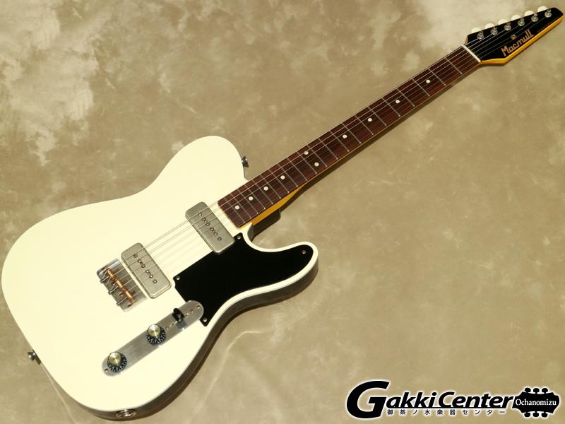 Macmull Custom Guitars Heartbreaker P90 Aged White【シリアルNo: 082108/3.6kg】【店頭在庫品】