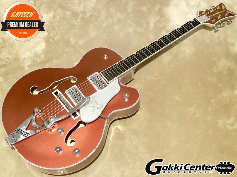 Gretsch G6136T Limited Edition Falcon with Bigsby, Ebony Fingerboard, Two-Tone Copper/Sahara Metallic【シリアルNo:JT21031365/3.7kg】【店頭在庫品】