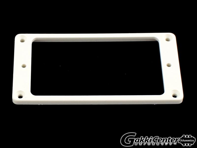 Allparts Humbucking Pickup Rings Flat Slanted White/8243