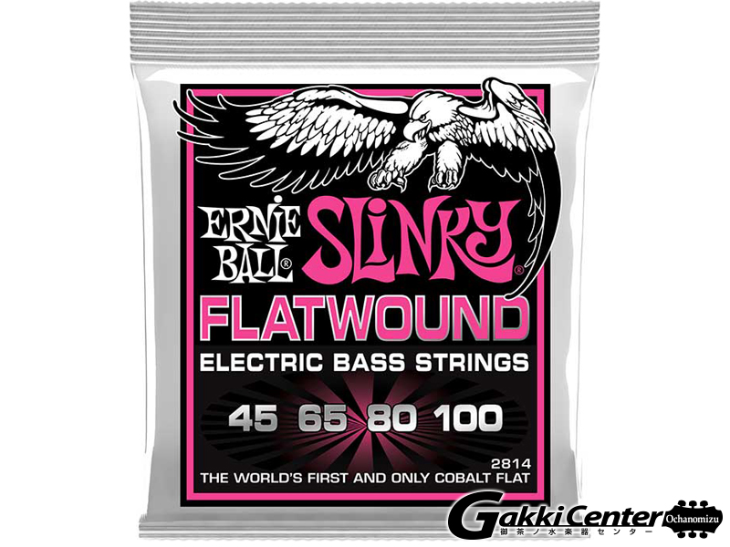 ERNiE BALL SUPER SLINKY FLATWOUND BASS [#2814]【店頭在庫品】
