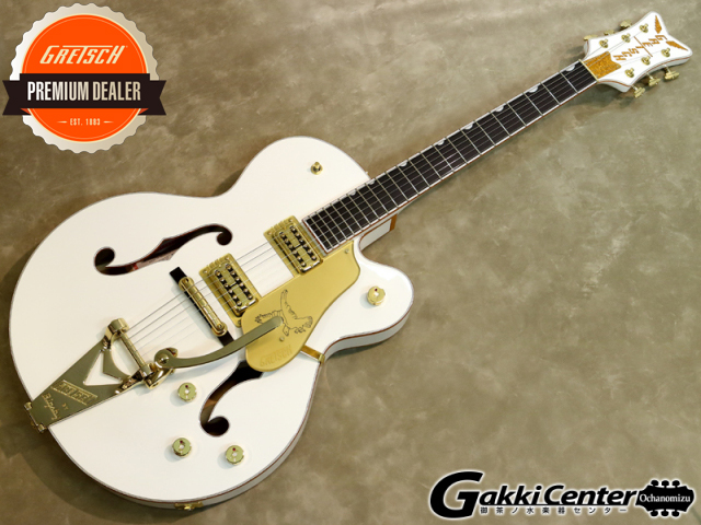 Gretsch G6136T-WHT Players Edition Falcon【シリアルNo:JT19114642/3.8kg】【店頭在庫品】