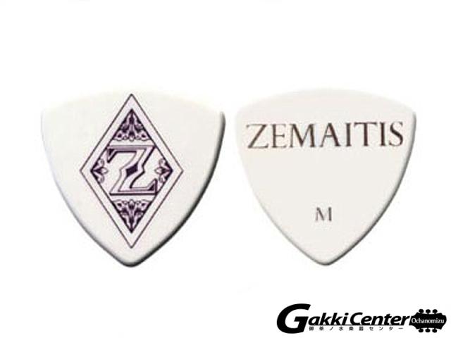 ZEMAITIS PICK ZP03 WHT TR/M 20枚セット