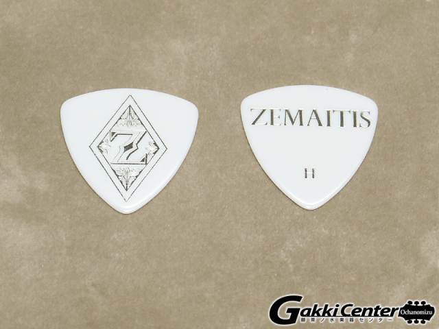 ZEMAITIS PICK ZP03 WHT TR/H 20枚セット