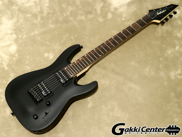 Jackson JS Series JS22-7 DINKY Satin Black【シリアルNo:CWJ1750881/3.1kg】【店頭在庫品】