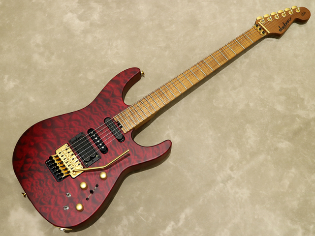 Jackson USA Signature Phil Collen PC1 Satin Transparent Red【シリアルNo:XN9630/3.8kg】【店頭在庫品】