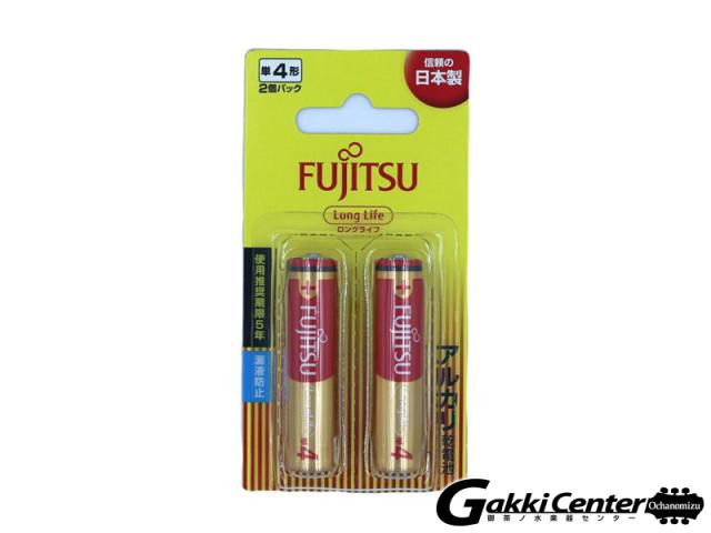 FUJITSU アルカリ乾電池 単4形 1.5V LR03F LongLife