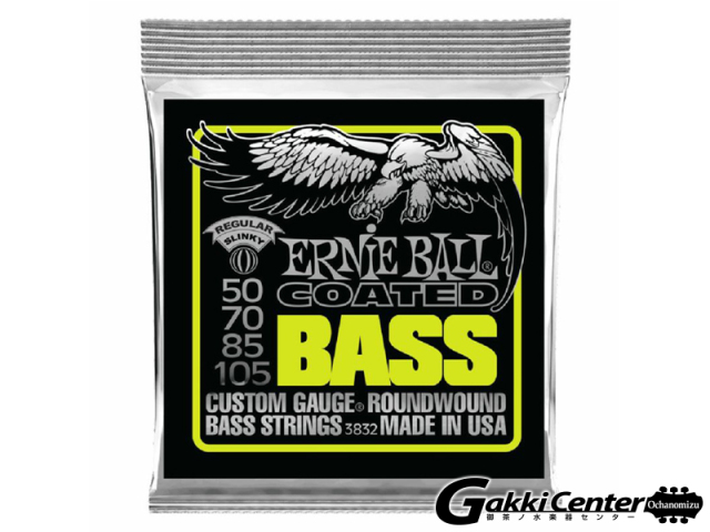 Ernie Ball Regular Slinky Coated Electric Bass 50-105 [#3832]