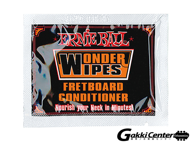 ERNiE BALL(アーニーボール) WONDER WIPES FRETBOARD CONDITIONER (20 PC)[#4247]