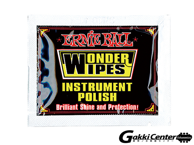 ERNiE BALL(アーニーボール) WONDER WIPES INSTRUMENT POLISH(20 PC)[#4248]