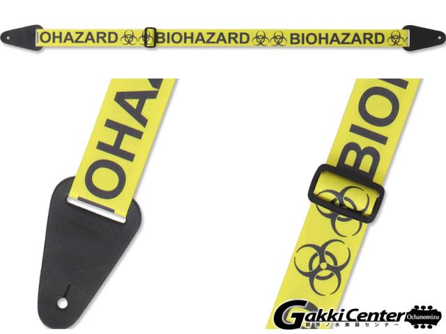 RENEGADE ギター/ベース用 ストラップ BIOHAZARD