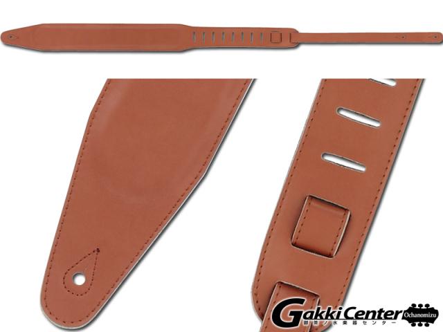 RENEGADE ギター/ベース用 ストラップ Paded Leather FOAM PAD-85-TAN【店頭在庫品】