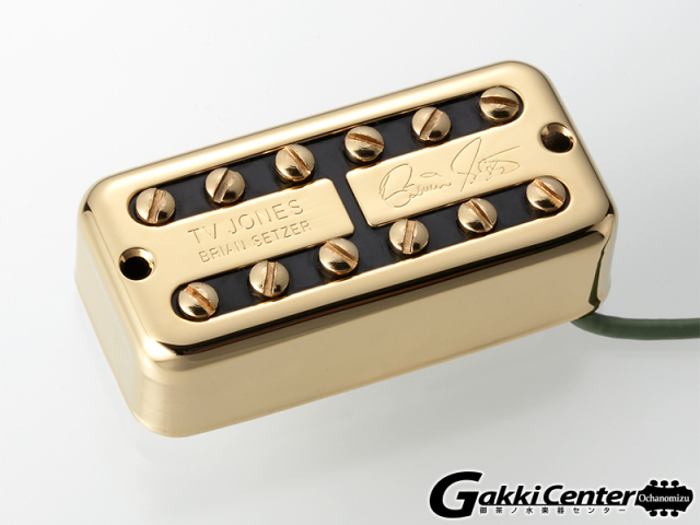 TV Jones Brian Setzer Signature Bridge/Gold【店頭在庫品】