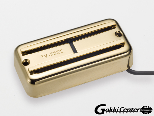 TV Jones Super'Tron Neck/Gold【店頭在庫品】