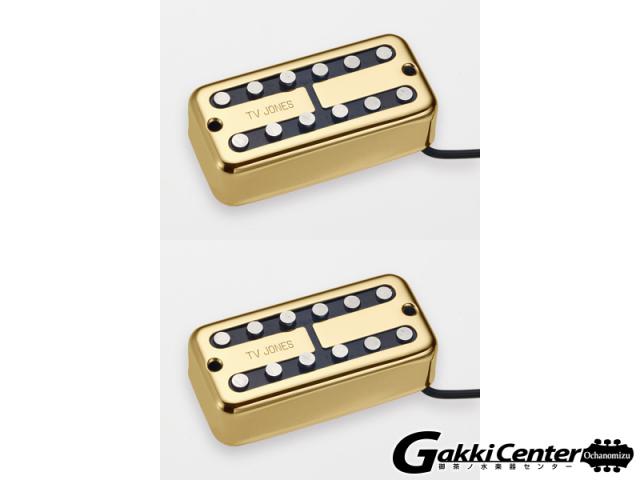 【数量限定SALE!】TV Jones Magna'Tron Bridge&Neck/Gold Set
